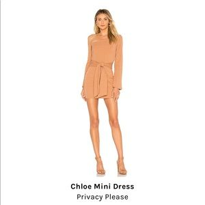 Chloe Mini Dress. WORE ONCE!